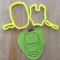 """Cookie cutter """"Man of iron"""" 9 cm"""