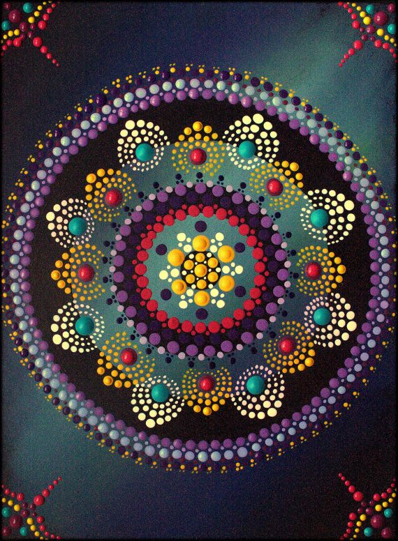 I love painting these healing Mandalas. When I look at them the energy I feel is magical. I hope it brings you as much joy as painting it has brought me. Kirsty Russell - Original!! (signed & dated on the back, so as not to detract from the art work) Painting: acrylic on MDF. Sealed and varnished for protection and vitality. Strung at the back and ready to hang.  SIZE: 6.5x 8.5 or 22cm x 16cm x 12mm  (C) Kirsty Russell 2015