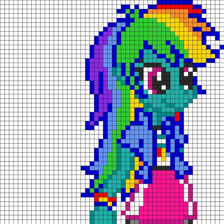 Kandi Patterns for Kandi Cuffs - Characters Pony Bead Patterns