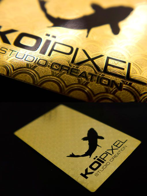 Luxury business cards will hold your customers attention.