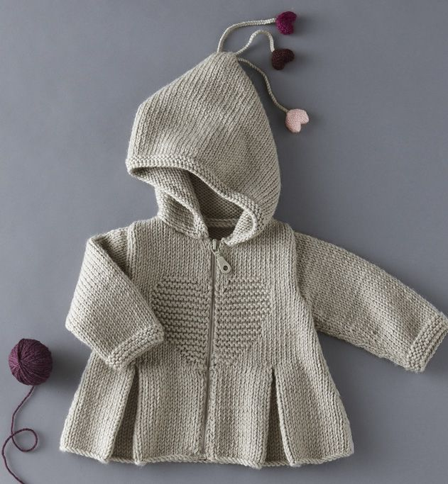 Such a cute coat, there is no pattern for this coat on the Dutch site where the link leads. If you know the pattern address, please add it to the comments.