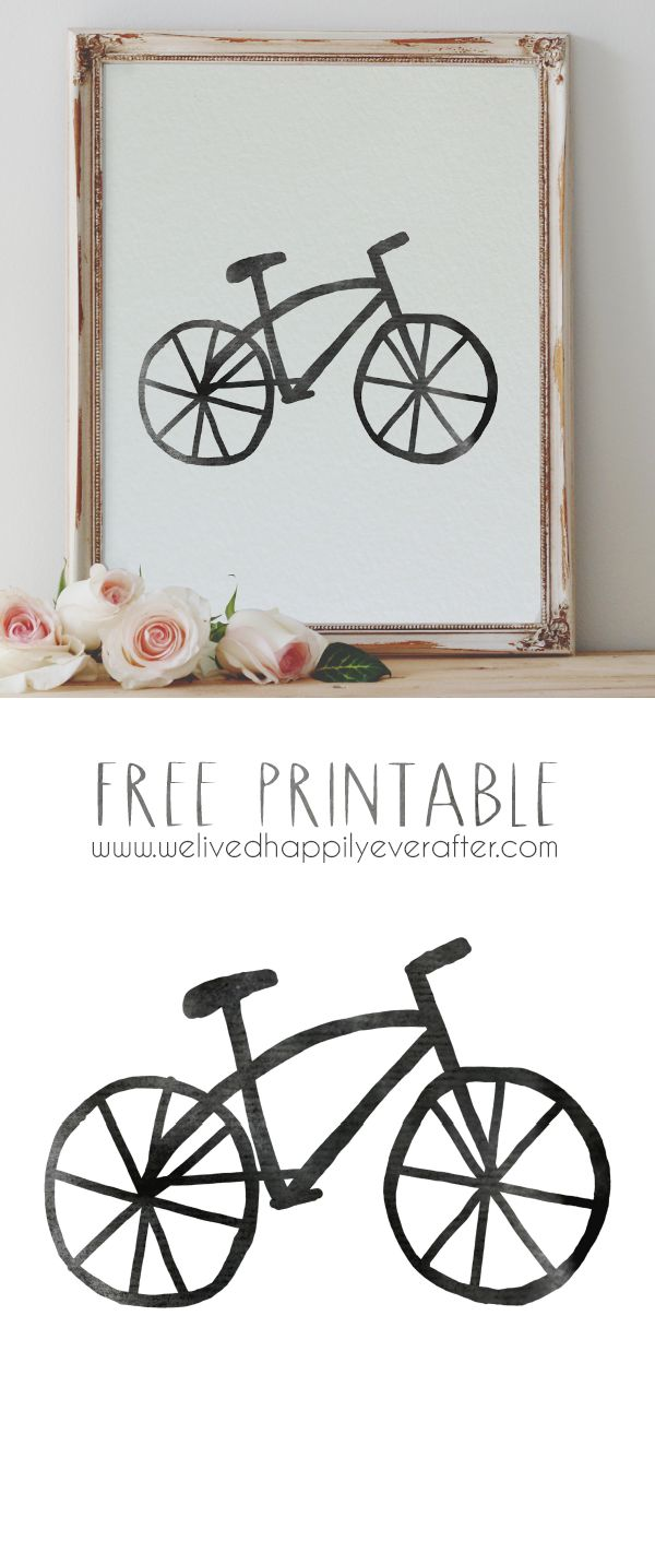 Bike Printable                                                                                                                                                     More