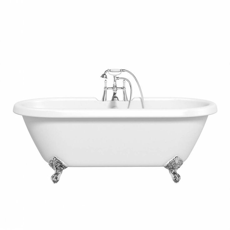 This bath is the essence of the roll top bath design. It has a traditional roll top edge and is double ended with gradual sloping sides to enable luxurious bathing. - 26999