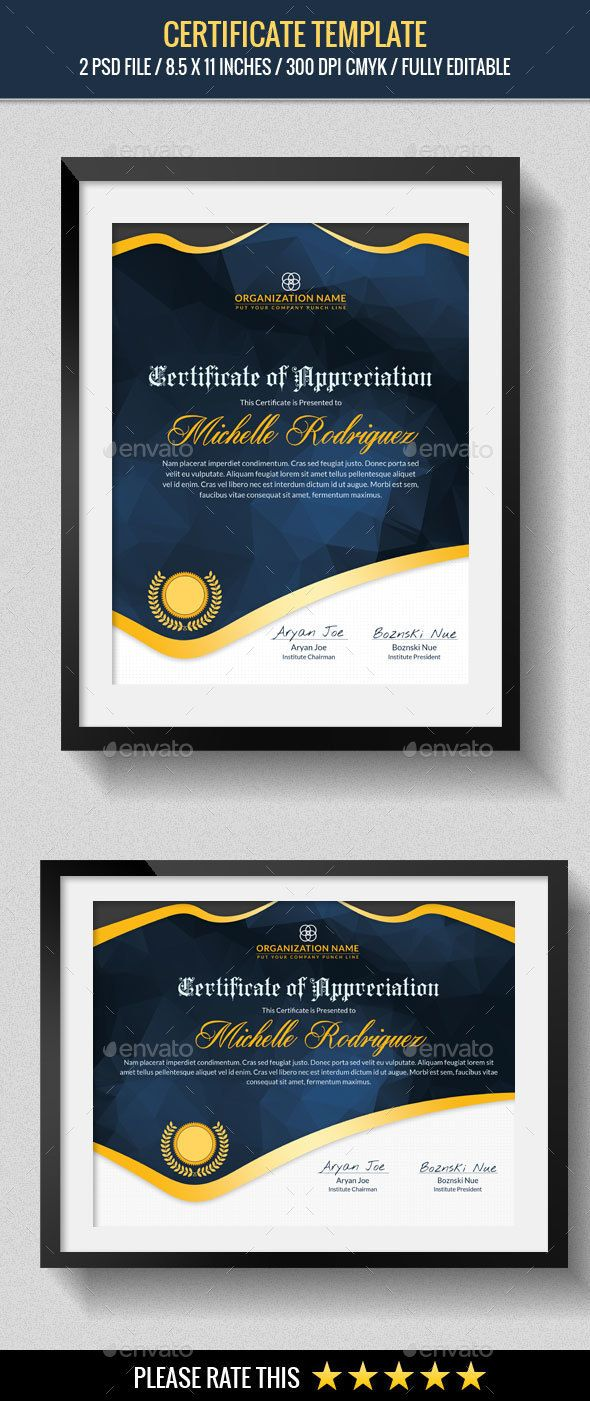 #Multipurpose Certificates #Template - #Certificates #Stationery Download here: https://graphicriver.net/item/multipurpose-certificates-template/13792467?ref=alena994