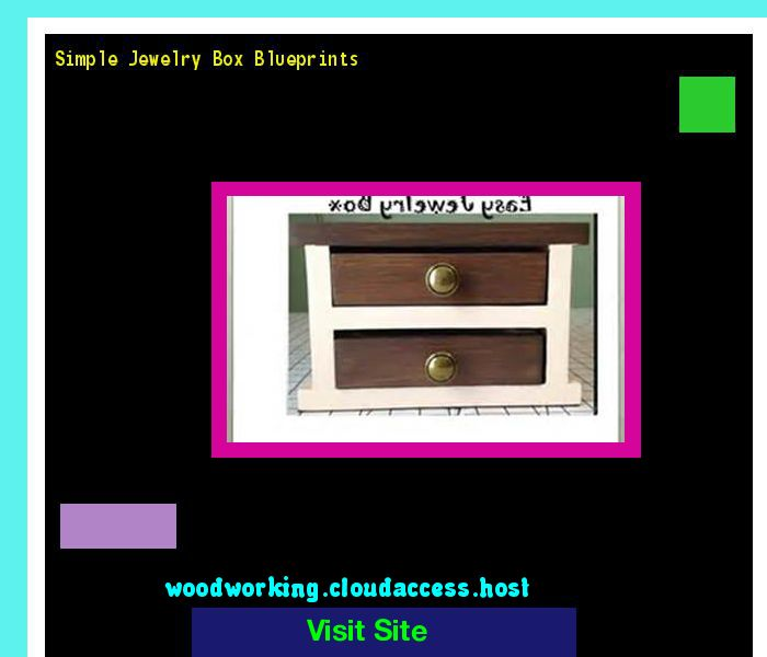 25 unique Woodworking simple jewellery box ideas on Pinterest