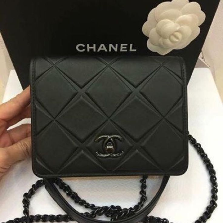 Chanel Cross Body Bag Oh how I love this one! So different