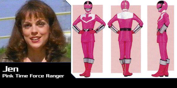 Jen Scotts (Pink Time Force Ranger) - Power Rangers Time Force | Power Rangers Central