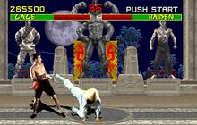 Mortal Kombat made by Midway Games was a fighting game I would play a lot of when I was really little.