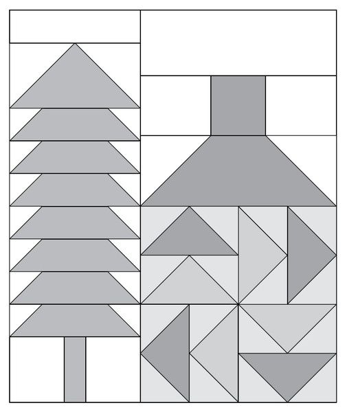 Moda Be My Neighbor Free Block Pattern block 7