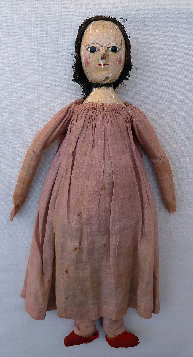 'Elswyth' an unrestored late 18th century doll, from the blogpost - http://theoldpretenders.blogspot.com/2011/07/saving-elswyth.html