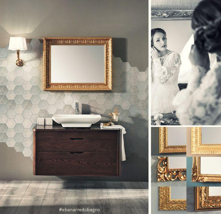 In #bagno lo #specchio non è solo oggetto di pura vanità ma riflette la nostra storia ed ha il potere di esaltare la #bellezza. scopri il #luxury  che è in te ! #ioscelgoeban #arredobagno