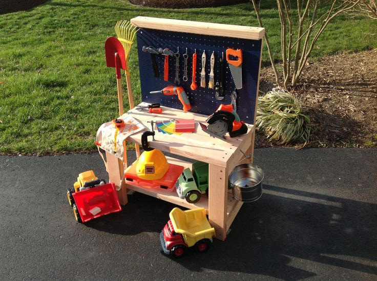 Ana White | Play Workbench - DIY Projects