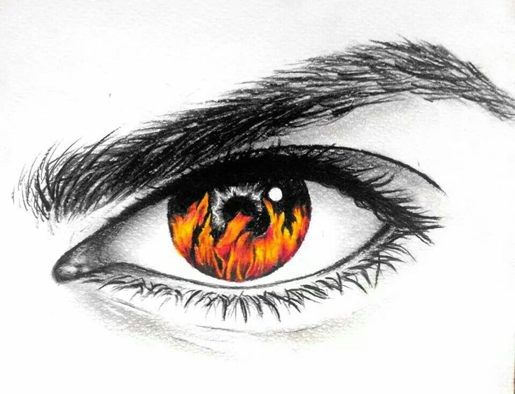 fire drawings design - photo #9