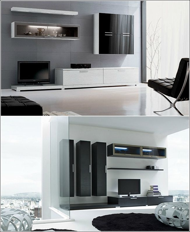 One of the basic needs of every family living in a house is storage. What if we provide you with a stylish solution? Have a look at these wall units for yo