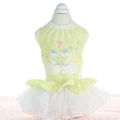 Dog+Dress+Dog+Clothes+Casual/Daily+Fashion+Embroidered+–+USD+$+8.99