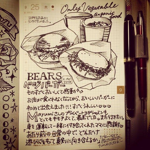 akanehazuk #ほぼ日手帳#カズン#手帳#万年筆#日記#diary#hobonichi#木更津#onlyvegetable#organic#ベジ... | Use Instagram online! Websta is the Best Instagram Web Viewer!