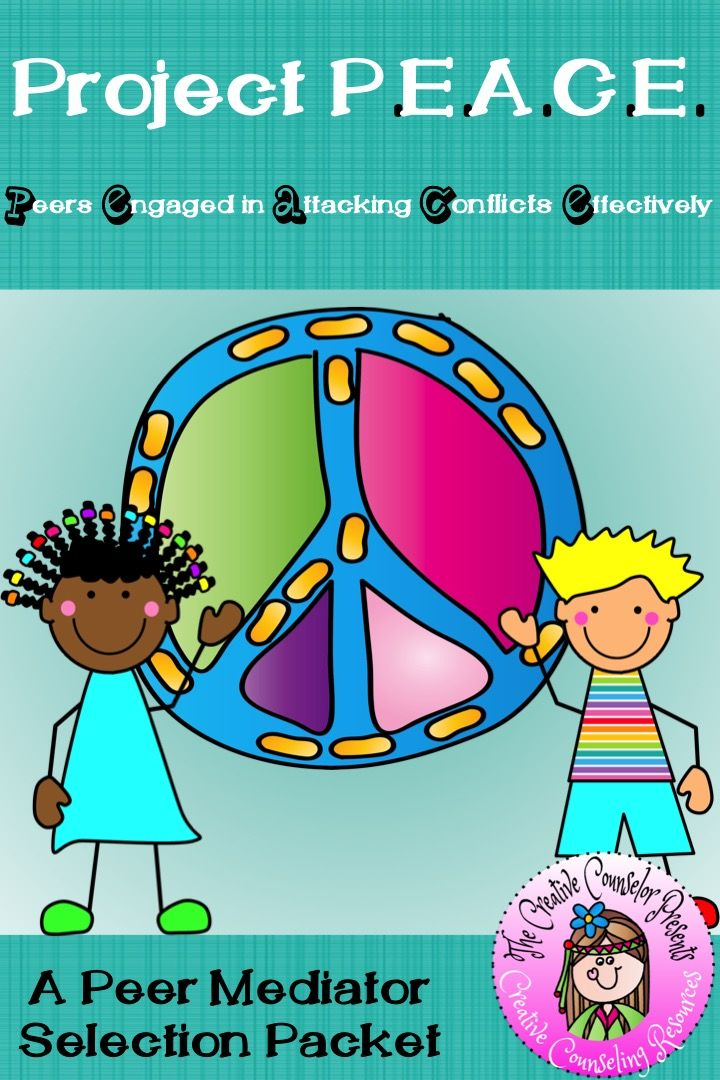 Project PEACE Peer Mediation Conflict Resolution-Peer