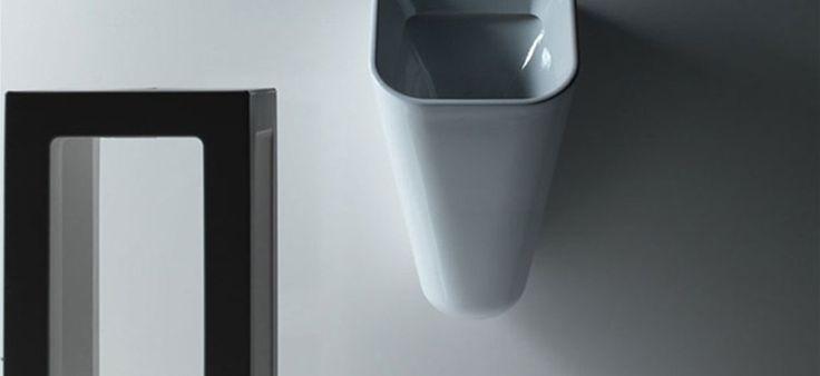 Meg 11 - Wall mounted urinal --- Orinatoio sospeso, collezione Meg11