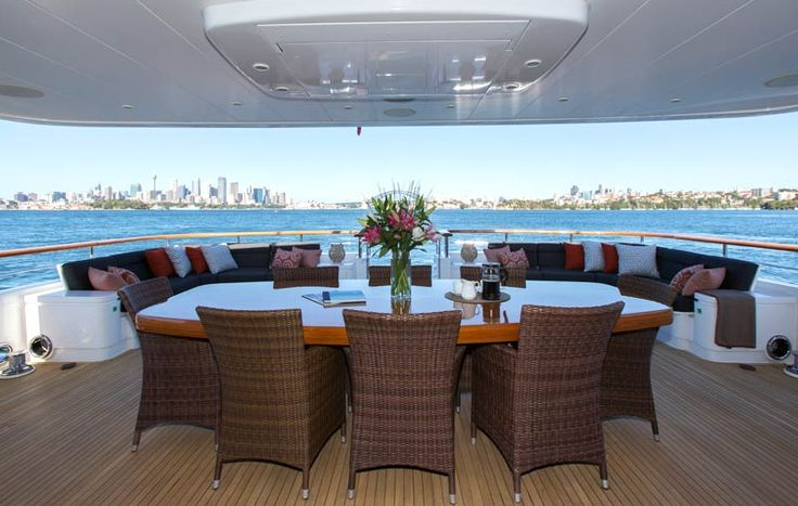 MASTEKA 2  Luxury 122 ft Fino Super Yacht  5* comfort Sydney Harbour
