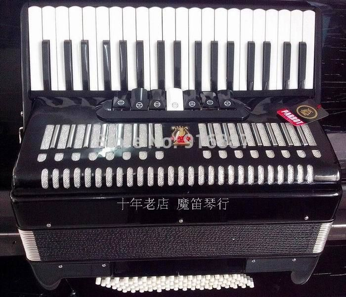 Free Shipping Accordion, Parrot 96 Bass 37 Keys Accordion, 96BS 37 Keys 7/2 Register Accordion, Accordion for Beginner