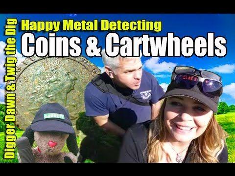 Digger Dawn & Twig the Dig - Xp Deus V Garrett ACE 400i most coins!! (114)
