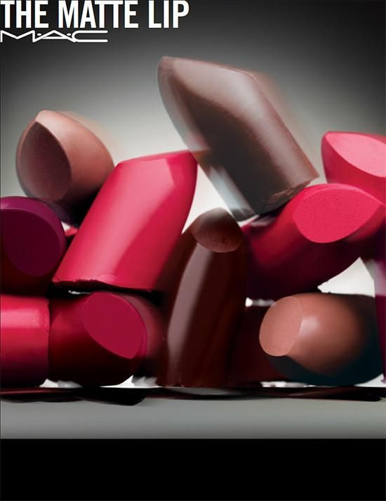 Colección de otoño de labiales mates de MAC.