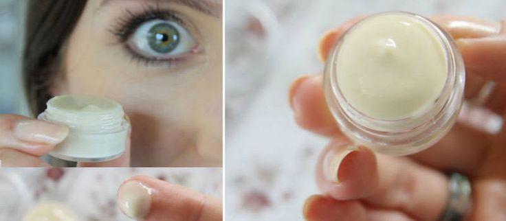 Φτιάξτε Φυτική Αντιγηραντική Κρέμα Ματιών σε 1 Λεπτό χρησιμοποιώντας Μόνο 3…