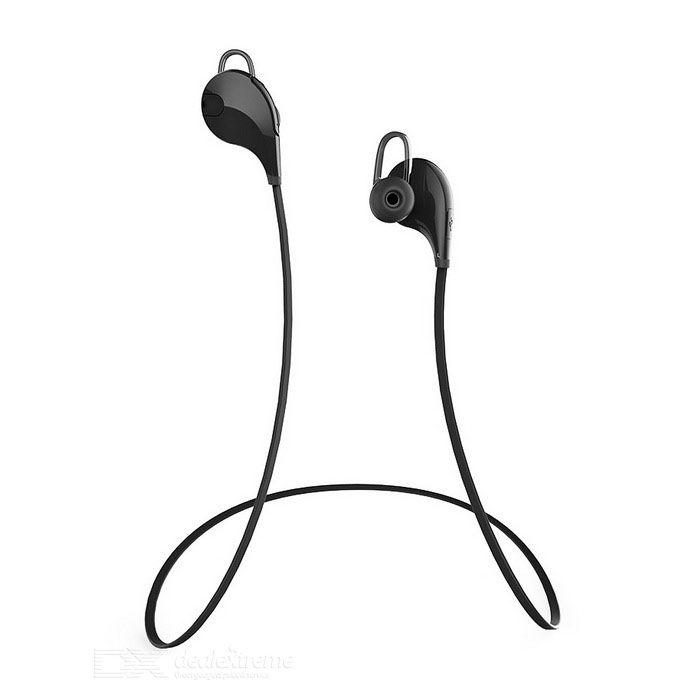 Outdoor Sports Bluetooth V4.0 In-Ear Earphone w/ Mic - Black