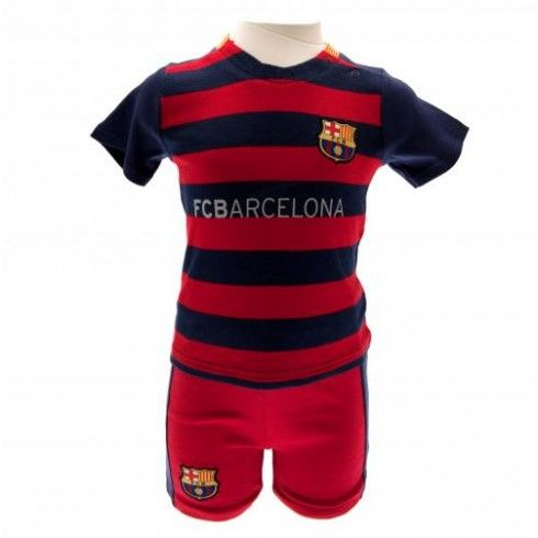 Barcelona Baby Shirts and Shorts Set - 3 / 6 Months