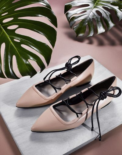 ballerina shoes. art direction. product photography.