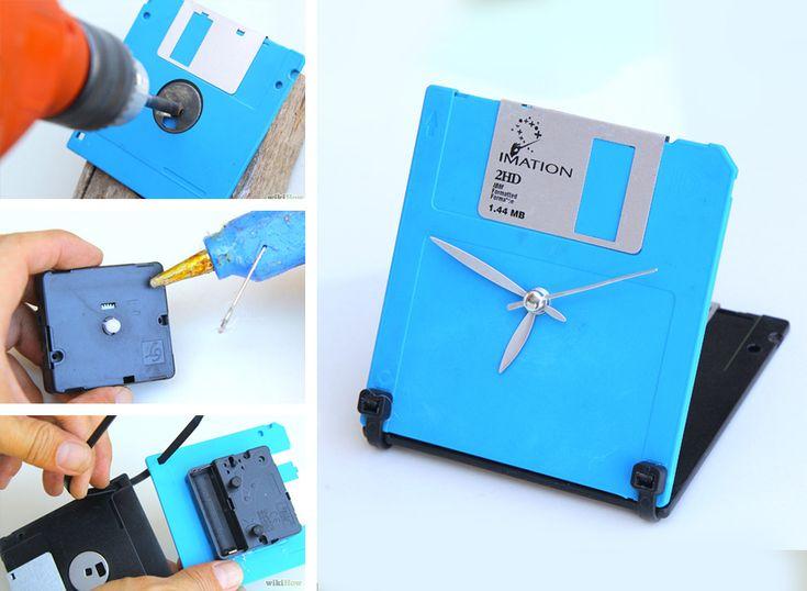 Orologio da tavolo Floppy Disk More