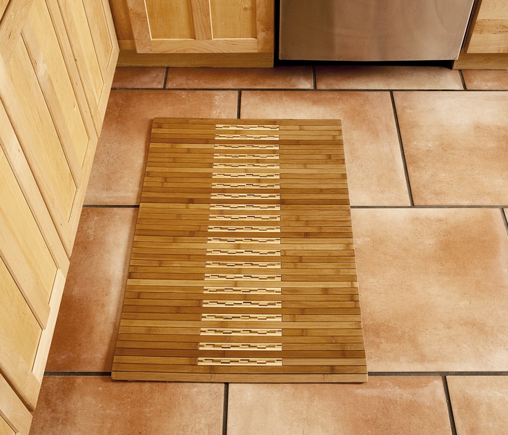 17 best images about bamboo kitchen bath mats on pinterest - Bamboo flooring in kitchen and bathroom ...