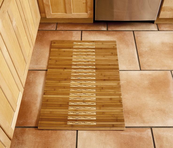 12 best bamboo kitchen/bath mats images on pinterest