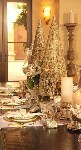 Christmas tablescape....