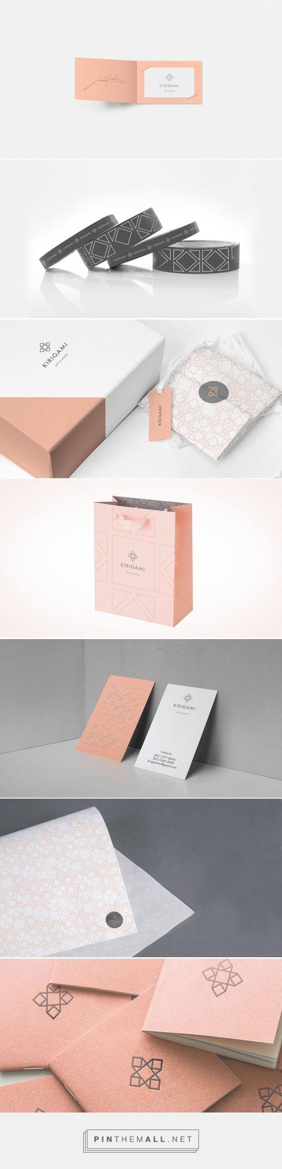 Kirigami Art and Paper Branding by Chapter | Fivestar Branding – Design and Branding Agency & Inspiration Gallery