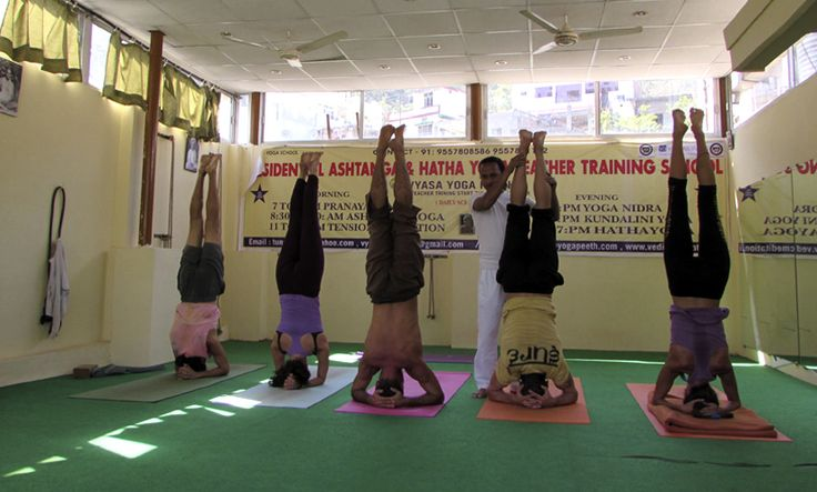 200, 300 and 500-hour residential hatha yoga teacher training in India registered with Yoga Alliance, USA at yoga school Arpit Yoga - RYS 200, RYS 300.