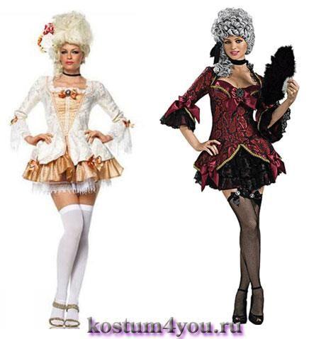 Купить карновальный костюм средневековой дамы