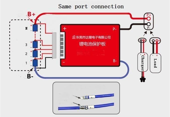 12v Lifepo4 Battery Bms 4s 25a 35a 45a 60a Pcm With Balance For 12 8v Ezbuypay Battery Jump A Car Battery Car Battery