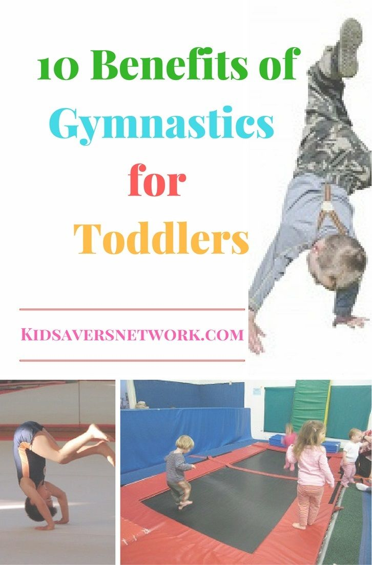 Wondering if your toddler should join a gymnastics program? Discover 10 amazing benefits of gymnastics for toddlers here & find pre school classes near you! via @sandy6642