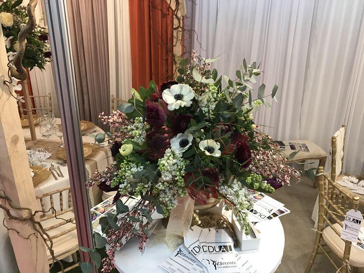 Early Spring Bridal Bouquet with anemonas !  @DUALEVENTS #atelierdualromania #atelierdual