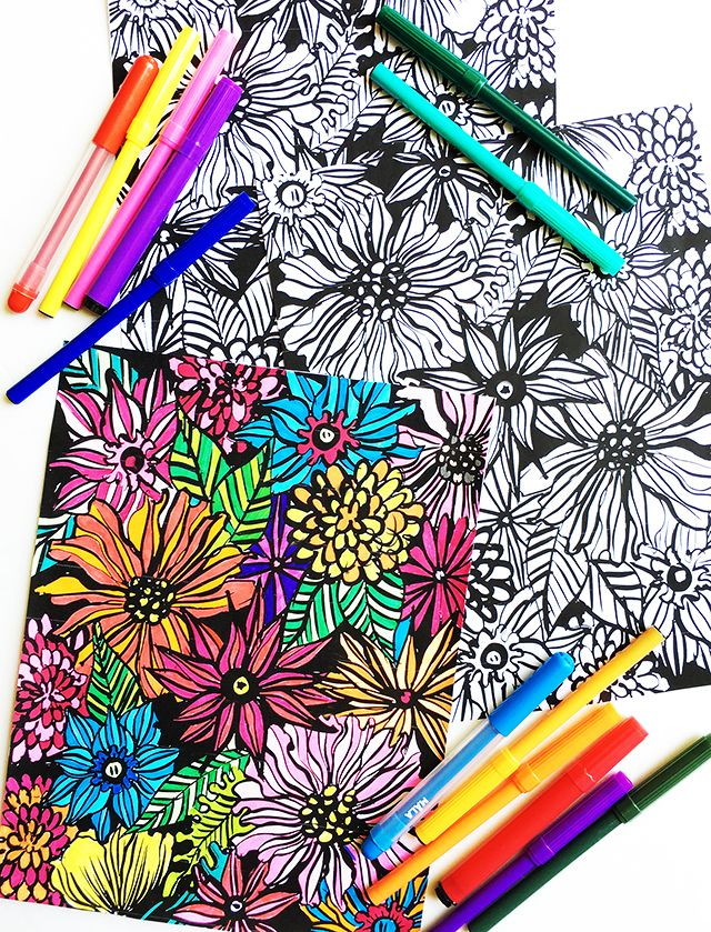 26 best Coloring Fun images on Pinterest  Coloring books