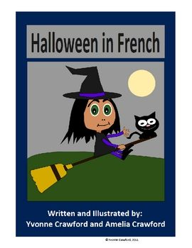 Halloween in French is a booklet that focuses on the names of Halloween Words in French.Included: 13 full color pages of Halloween vocabulary - my boy will start learning :)