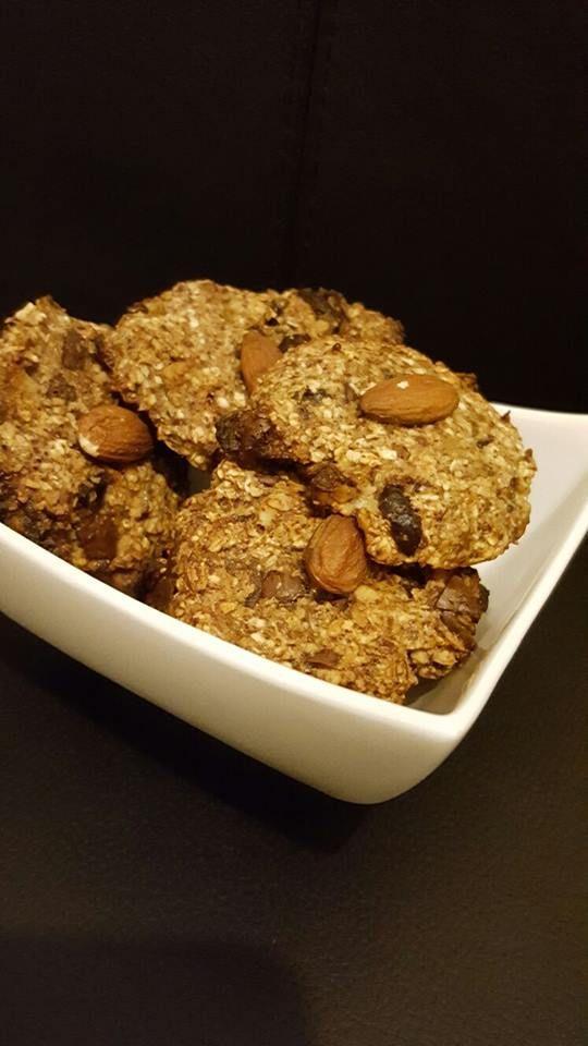Havermoutkoekjes met gedroogde abrikozen