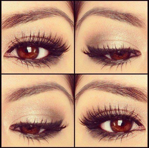 This eye make-up is gorgeous!