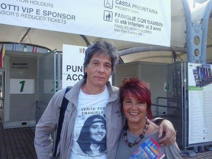 .... Cercando Fabrizio e Emanuela Orlandi  SENZA RESA! http://www.fabriziocatalano.it/salone-del-libro-di-torino-cercando-fabrizio/