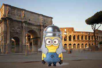 The Decline And Fall Of The Western Roman Empire, Explained By Minions