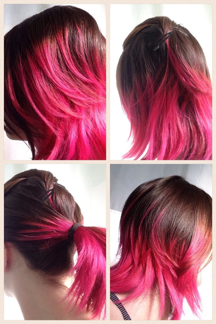 Joico hair color tags color jocio joico - Joico Hot Pink Over Bleached Ends Allison At Salon Sage Is Always Up For Fun