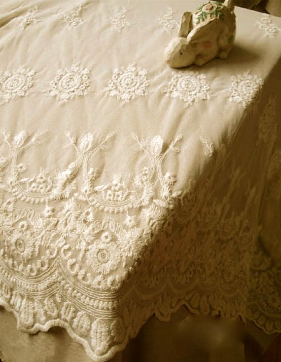 Cotton Embroidery Dentelle