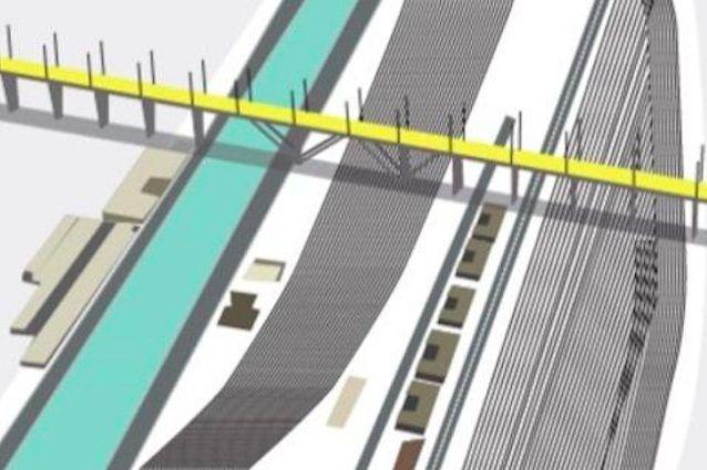 Rendering Del Nuovo Ponte Di Renzo Piano Per Genova Renzo Piano Genova Ponte