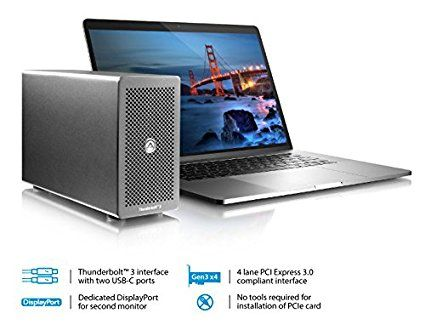 Amazon.com: Node Lite (Thunderbolt 3 Pcie Expansion Box) - MacOS and Windows Certified: Computers & Accessories